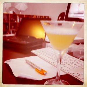 lemon drop at work