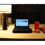 campari and soda and work