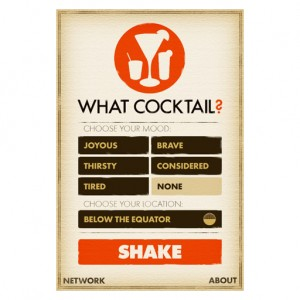 what-cocktail-main-screen