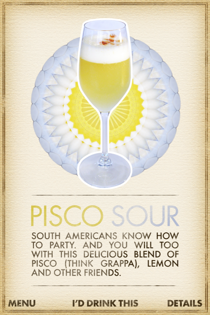 What Cocktail? - Pisco Sour
